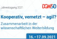 Poster für Jahrestagung der DGWF 2021