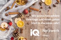 Weihnachtsgrüße aus dem IQ Netzwerk Hessen