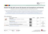 Übersicht: Deutsch lernen mit dem Smartphone