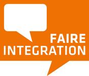 Logo des IQ Projektes Faire Integration