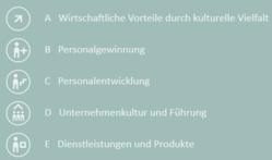 """Kostenloser Online-KMU-Check """"Interkultur und Vielfalt im Betrieb"""""""