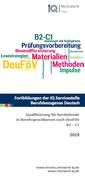 Qualifizierung für Kursleitende in Berufssprachkursen nach der DeuFöV B2/C1