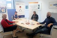 Kooperationsgespräch zwischen Faire Integration und