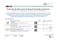 Kostenlose DaZ-Lernmaterialien
