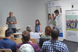 Informationsveranstaltung im Rahmen von MedIQ zur Anerkennug von ausländischen medizinischen Abschlüssen in Hessen