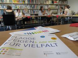 Workshop der Mobilen Anerkennungsberatung zur Vielfalt im Arbeitsalltag bei INBAS