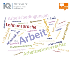 """Büroeröffnung des IQ Angebots """"Faire Integration"""" im DGB-Gewerkschaftshaus Frankfurt"""