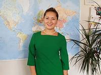 Viktoriia Melman am Abschlusstag der Brückenmaßnahme von berami