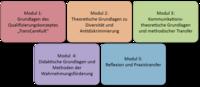 Module der Weiterbildung von TransCareKult