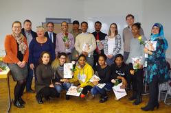 Abschlussfeier des IQ Teilprojekts First Step in Gießen