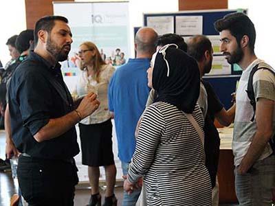 Anerkennungsberater Khaled Fakha im Gespräch