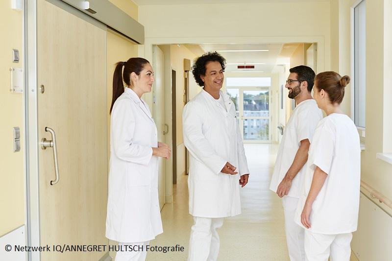 IQ Projekt Anlaufstelle: Onlinekurse für Pflege & Krankenhaus